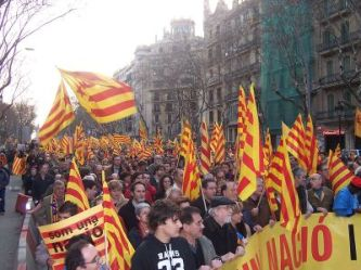Catalan-demonstration